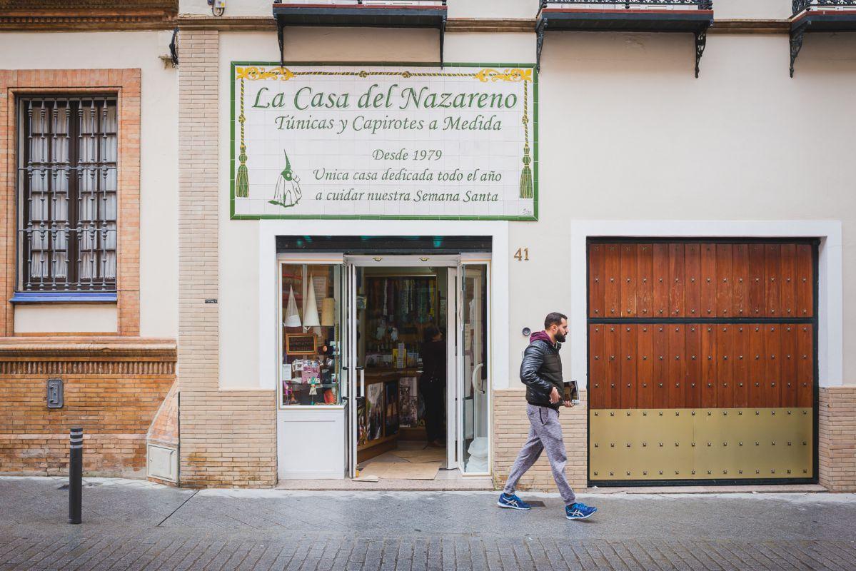 'La Casa del Nazareno', en la calle Matahacas, desde 1979.