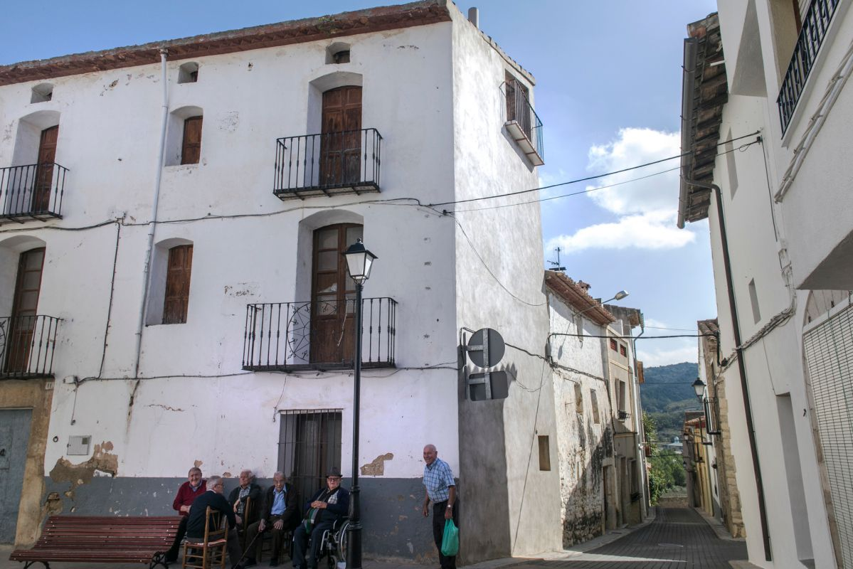 Paisanos de Catí, Alto Maestrazgo, Castellón. Foto: Eva Máñez