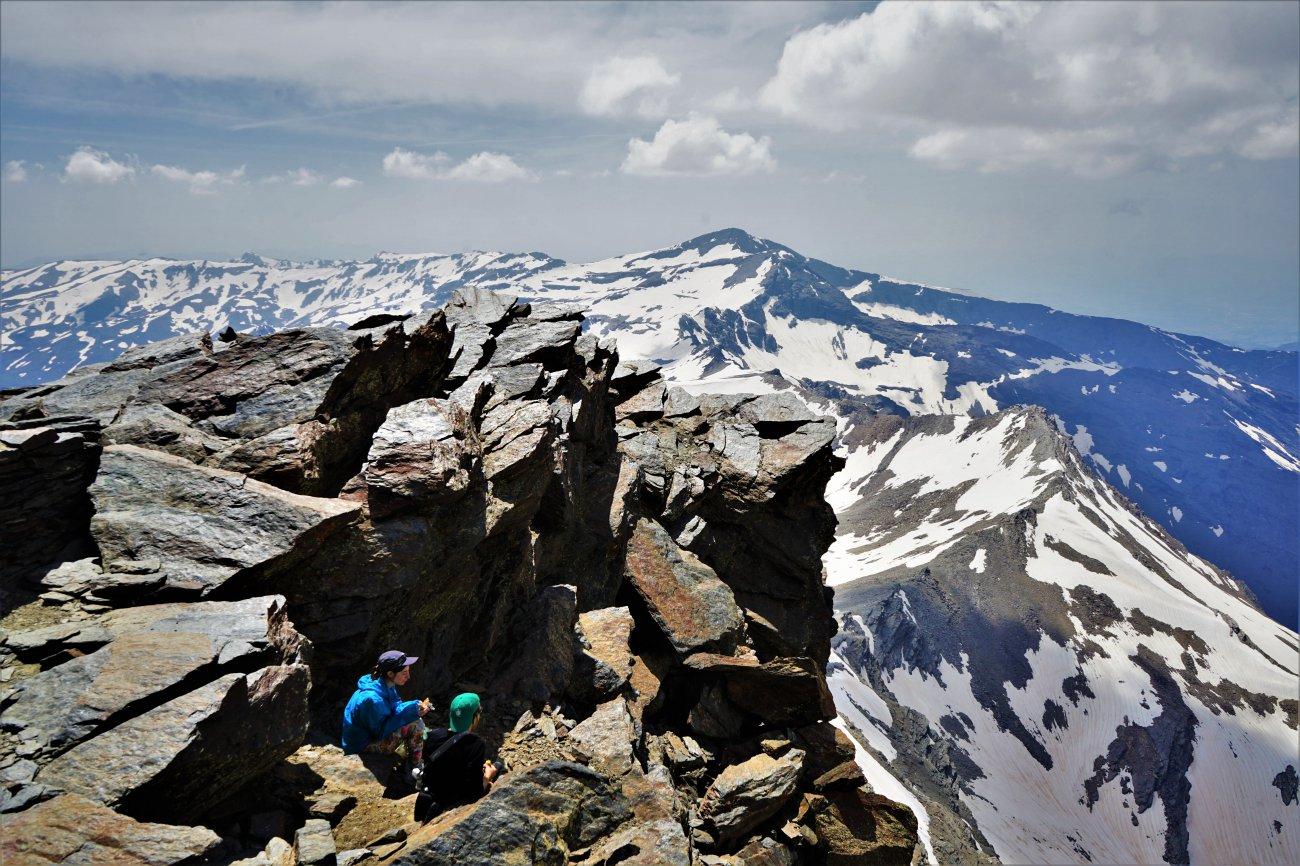 Ascenso al Mulhacén: Cima