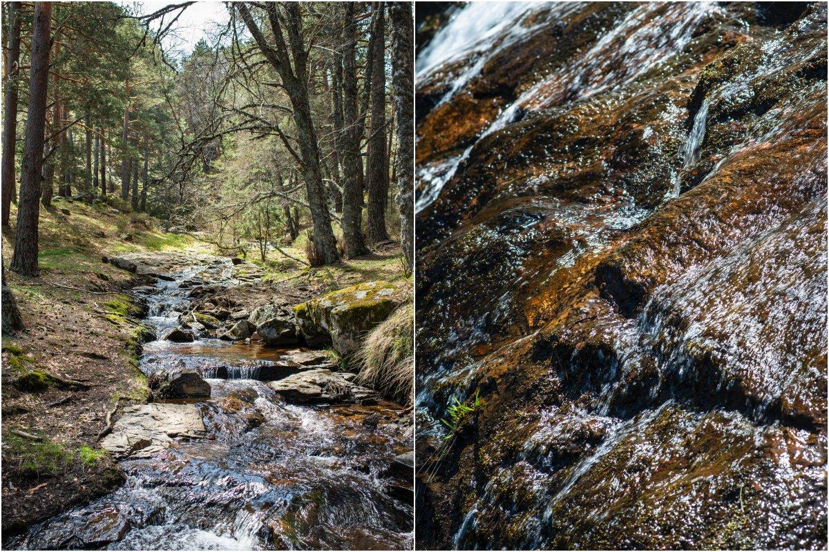 Cascadas de Sierra de Guadarrama: Chorrera de Mojonavalle