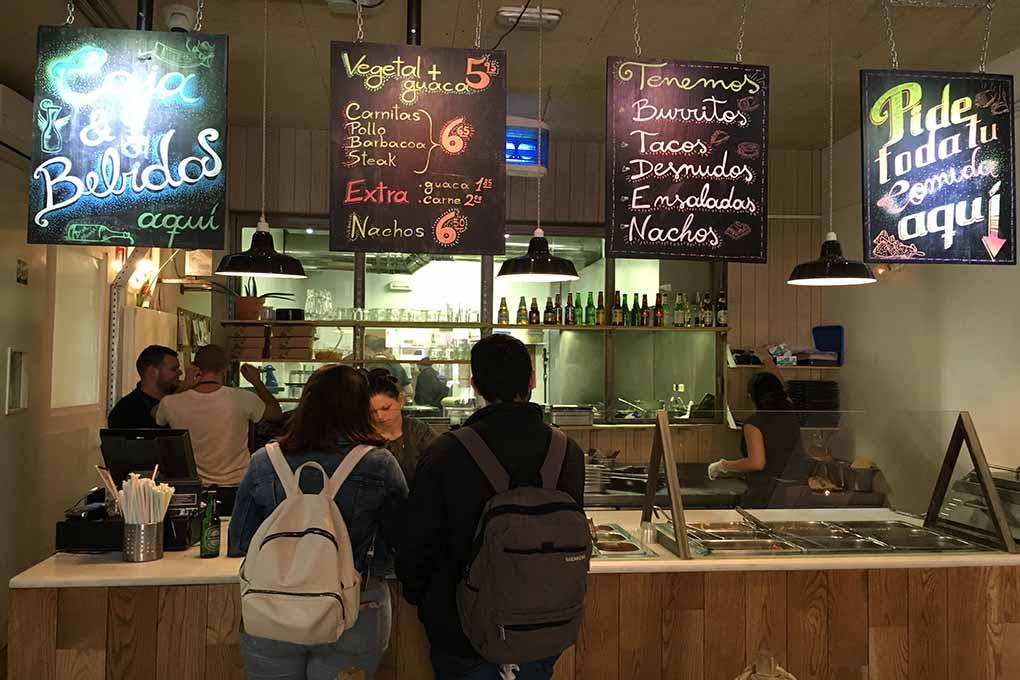 Este local ha conseguido ofrecer otra dimensión deliciosa de la comida mexicana. Foto: Luis Blasco.