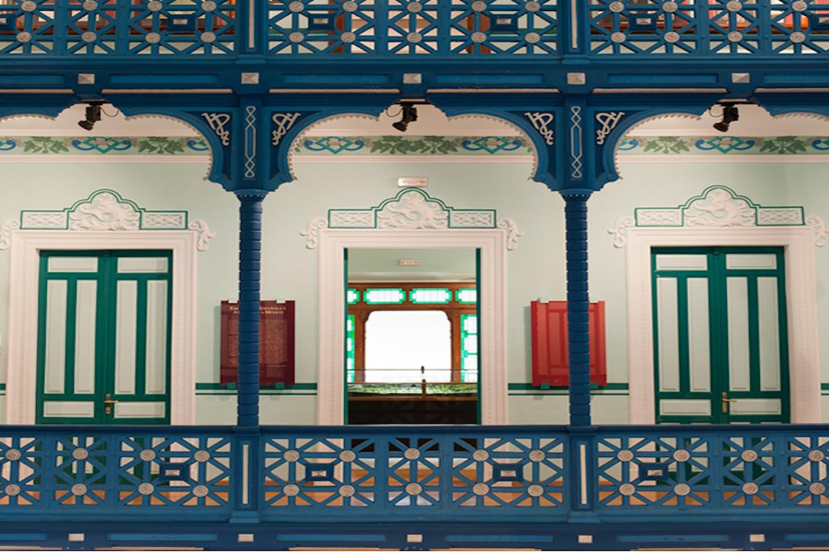 En el interior del Museo del Indiano. Foto: Fundación Archivo de Indianos-Museo.