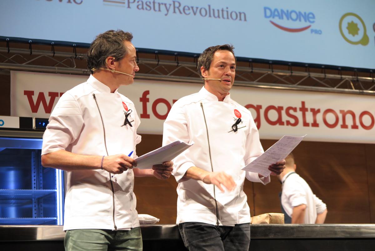 Hermanos Torres en Fòrum Gastronòmic Girona 2015.