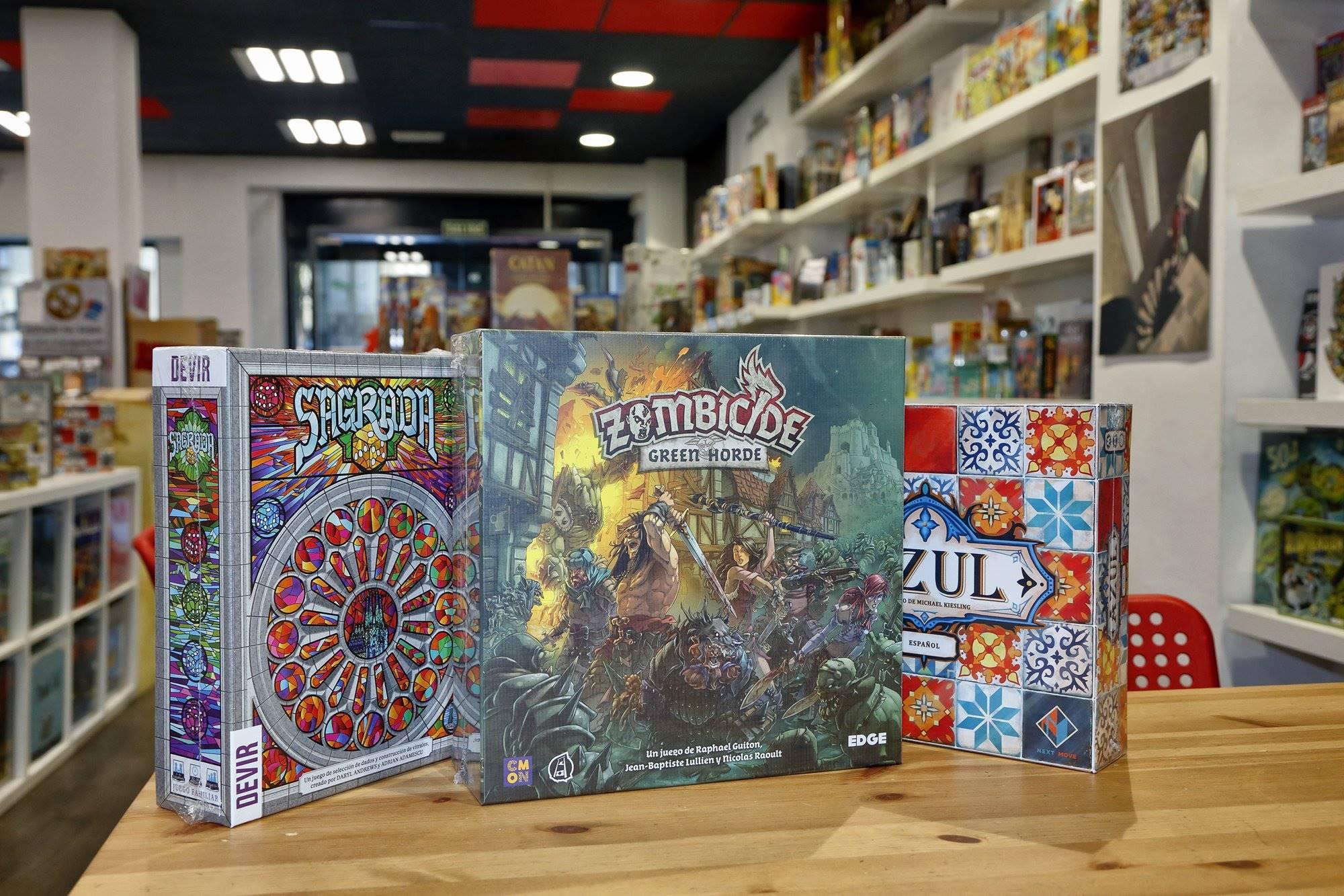 Zombicide, Azul y Sagrada, algunos de los juegos con más éxito.