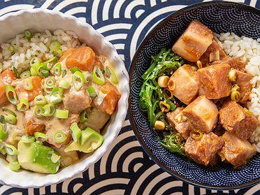Recetas de Poke Bowls hawaianos para el verano