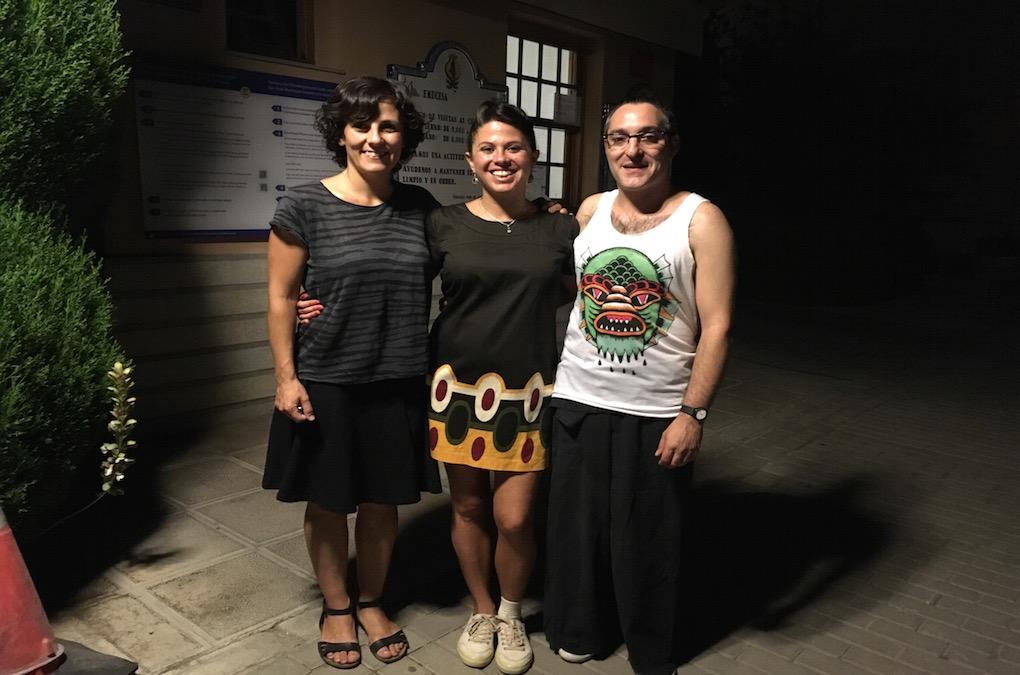 Muchísimas gracias a Vanesa Jurado, Javier Pérez de la Torre y Marisa Refollo por una noche diferente.