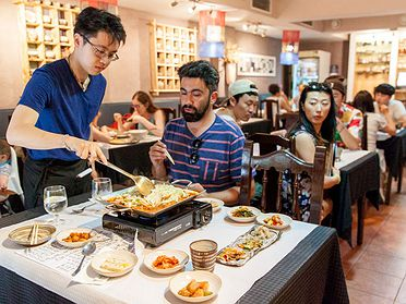 Restaurantes coreanos en Barcelona