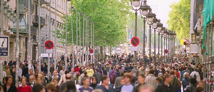Portal de l'Àngel. Foto: Ajuntament de Barcelona.