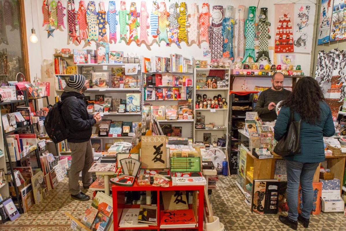 Desde esta tienda se puede curiosear en la cultura nipona durante horas.