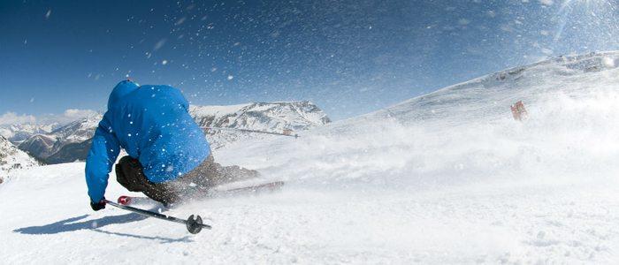 La nieve es de excelente calidad en Cerler por encontrarse a tanta altitud.