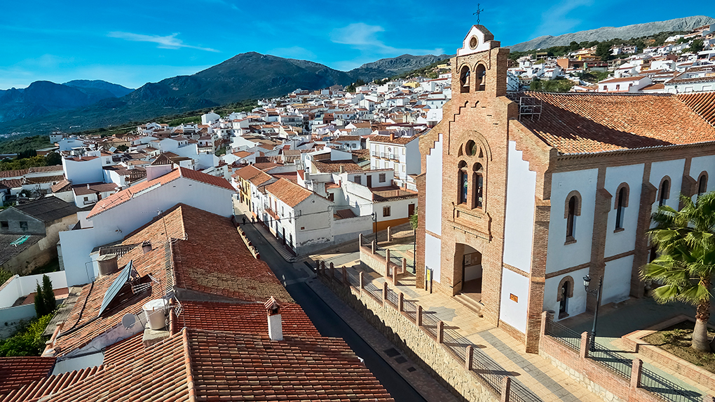 Vista de La Viñuela. Foto: Shutterstock.