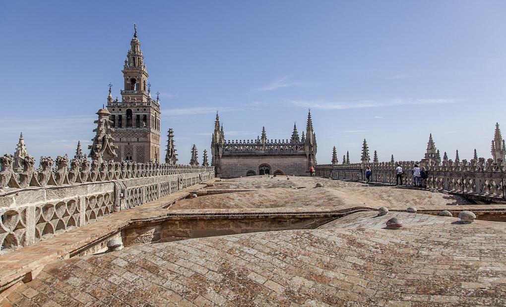 Cubiertas de la Catedral de Sevilla.