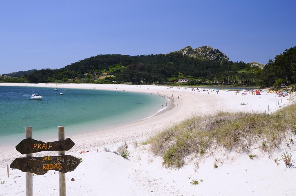 No es el Caribe, es Galicia. Foto: Shutterstock