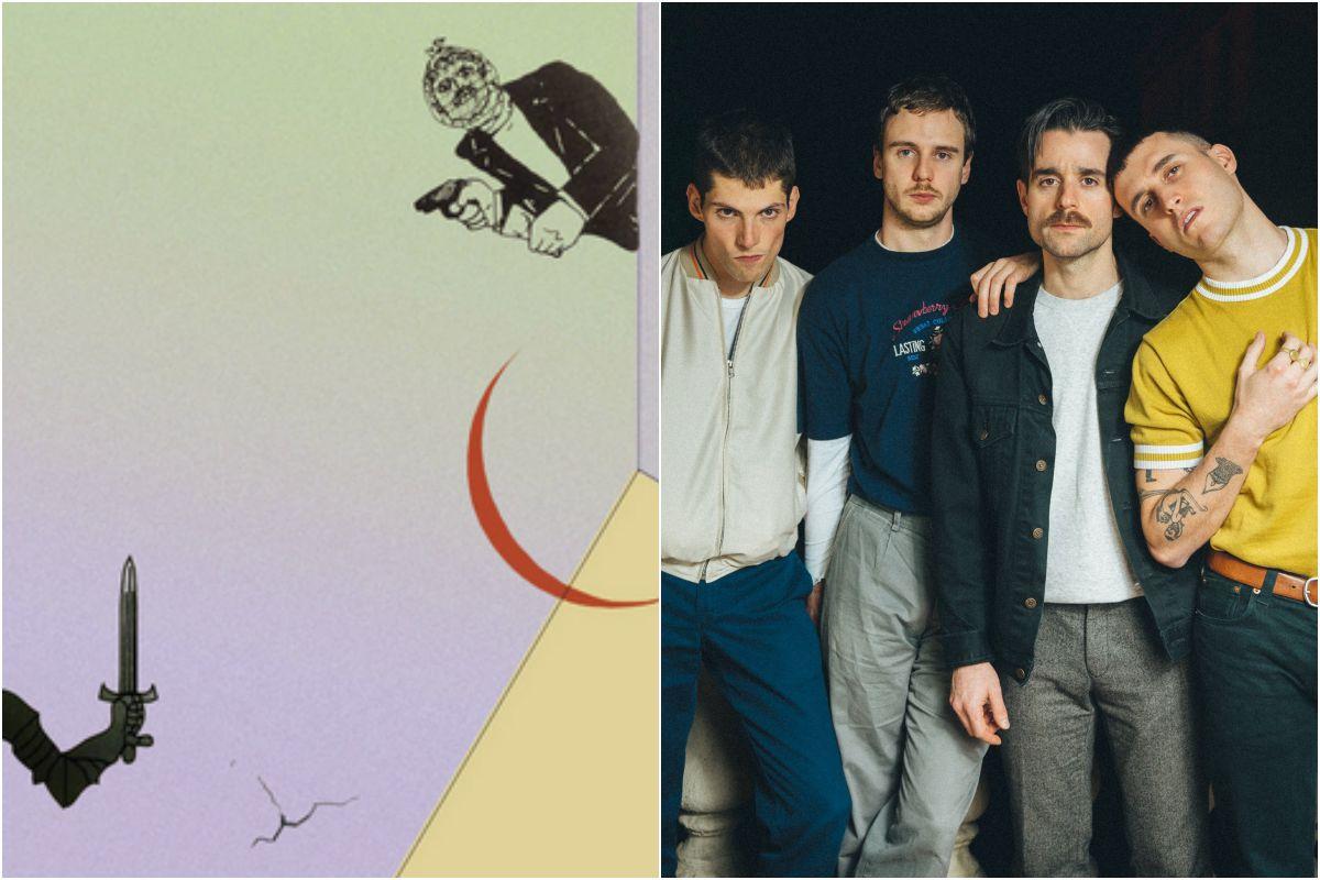 La portada del disco y un retrato de este grupo revelación. Fotos: Facebook / Pablo García.