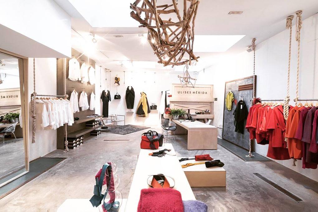 El interior de la tienda de Ulises Mérida. Foto: Facebook