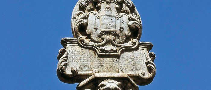 Fuente barroca del siglo XVI, en Lorca.