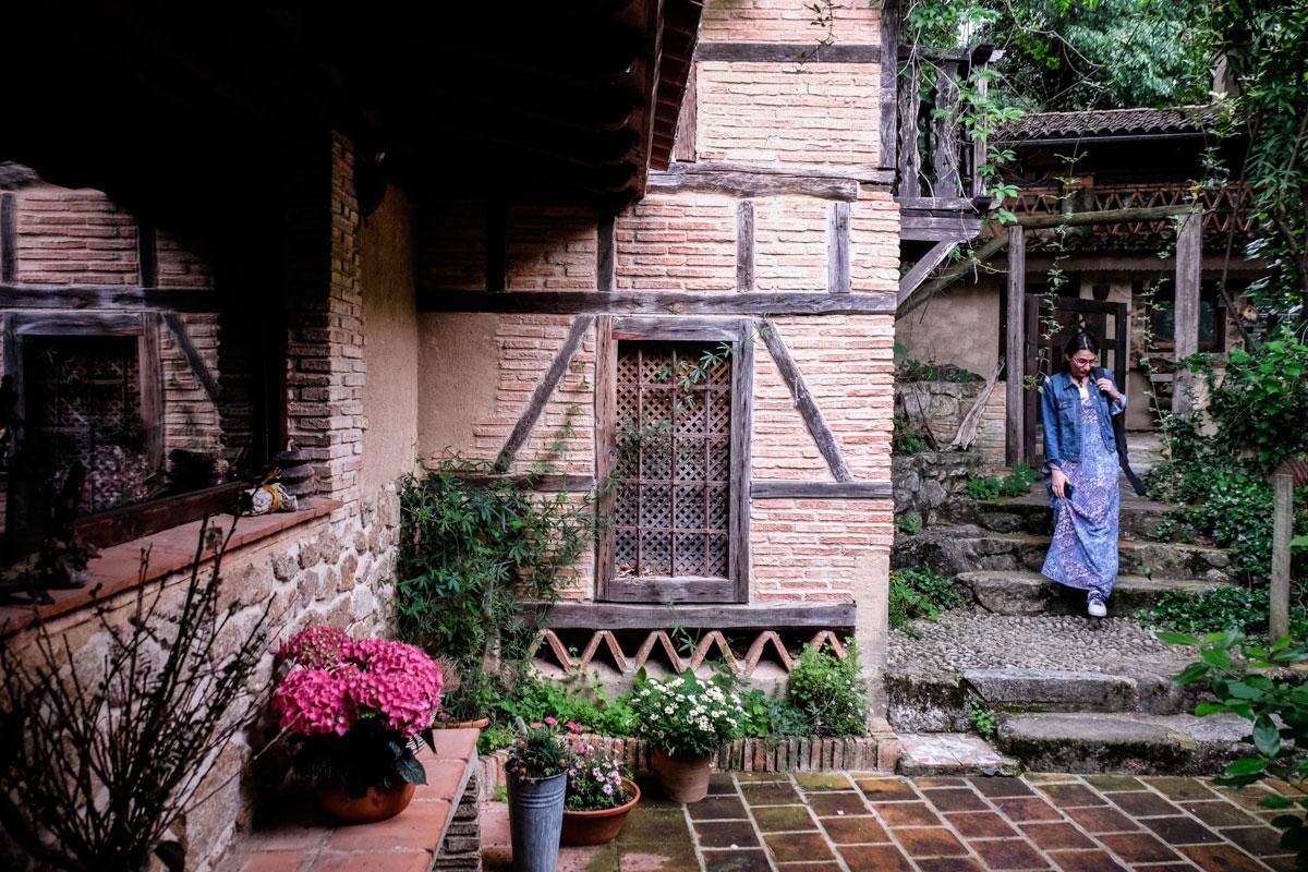 Las dos casas mantienen la arquitectura tradicional de la zona.