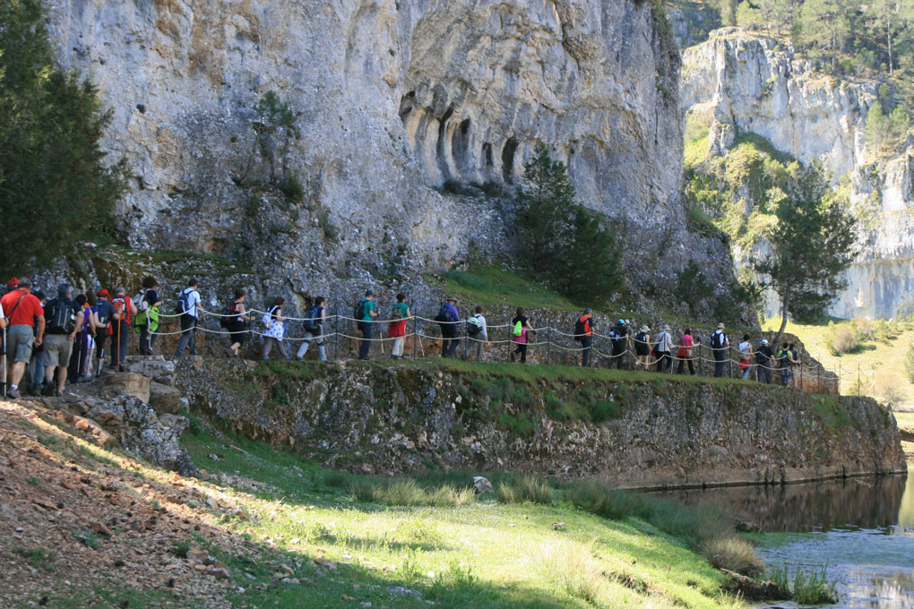 La ruta no tiene gran dificultad. Foto: Senderismo Sermar.