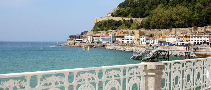 El paseo marítimo de Donostia-San Sebastián es de los más fotografíados.