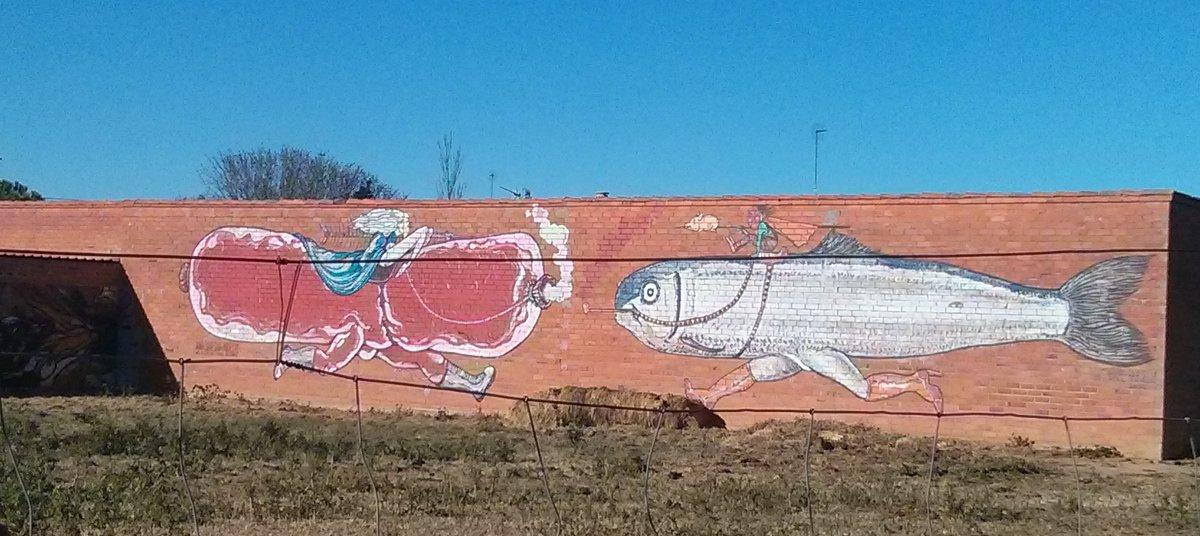 Otro mural del pueblo. Foto: Hernar Ortega.