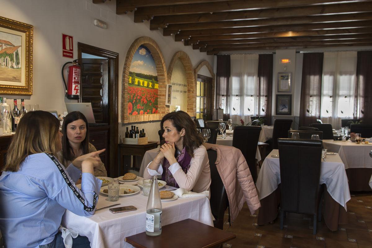 Salón del restaurante 'Octavio'.