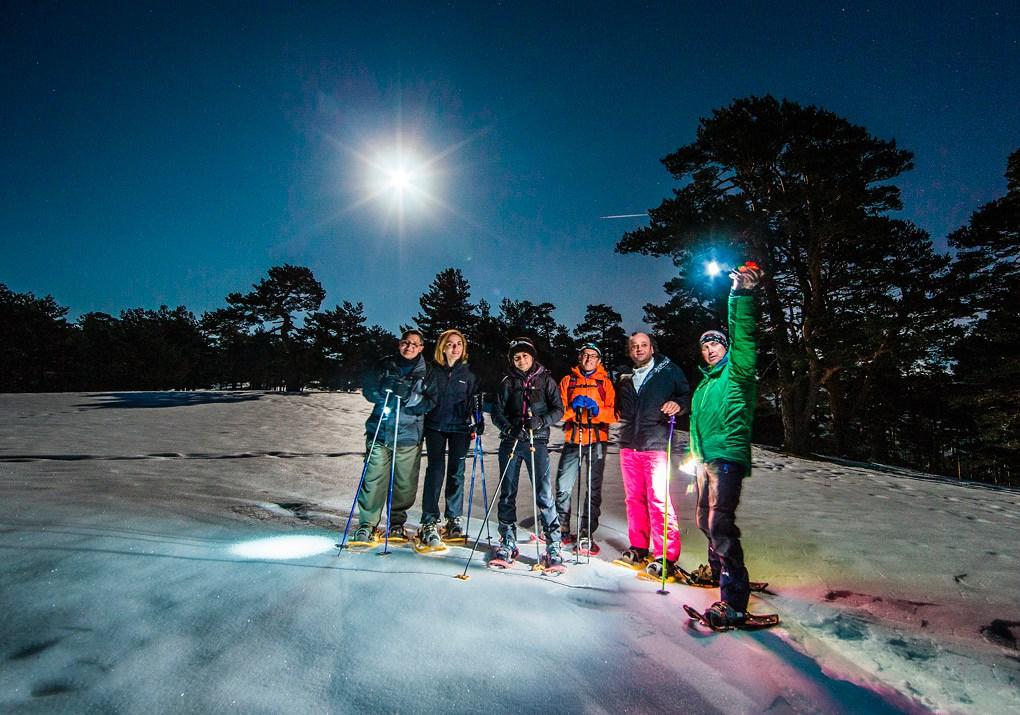 Participantes durante la Luna de Cuaresma 2017. Foto: Mikael Healsing (H&Hcreaciones)