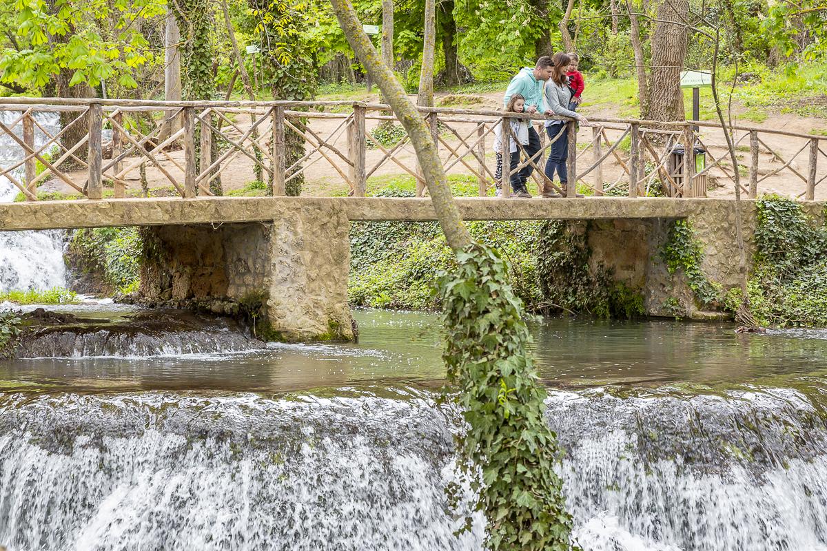 Los Vadillos son uno de los rincones más románticos del parque.