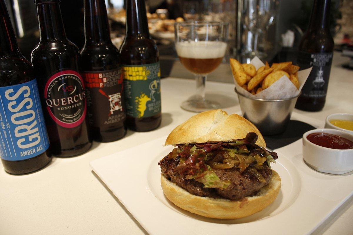 La hamburguesa: un 'pintxo' más, al fin y al cabo.