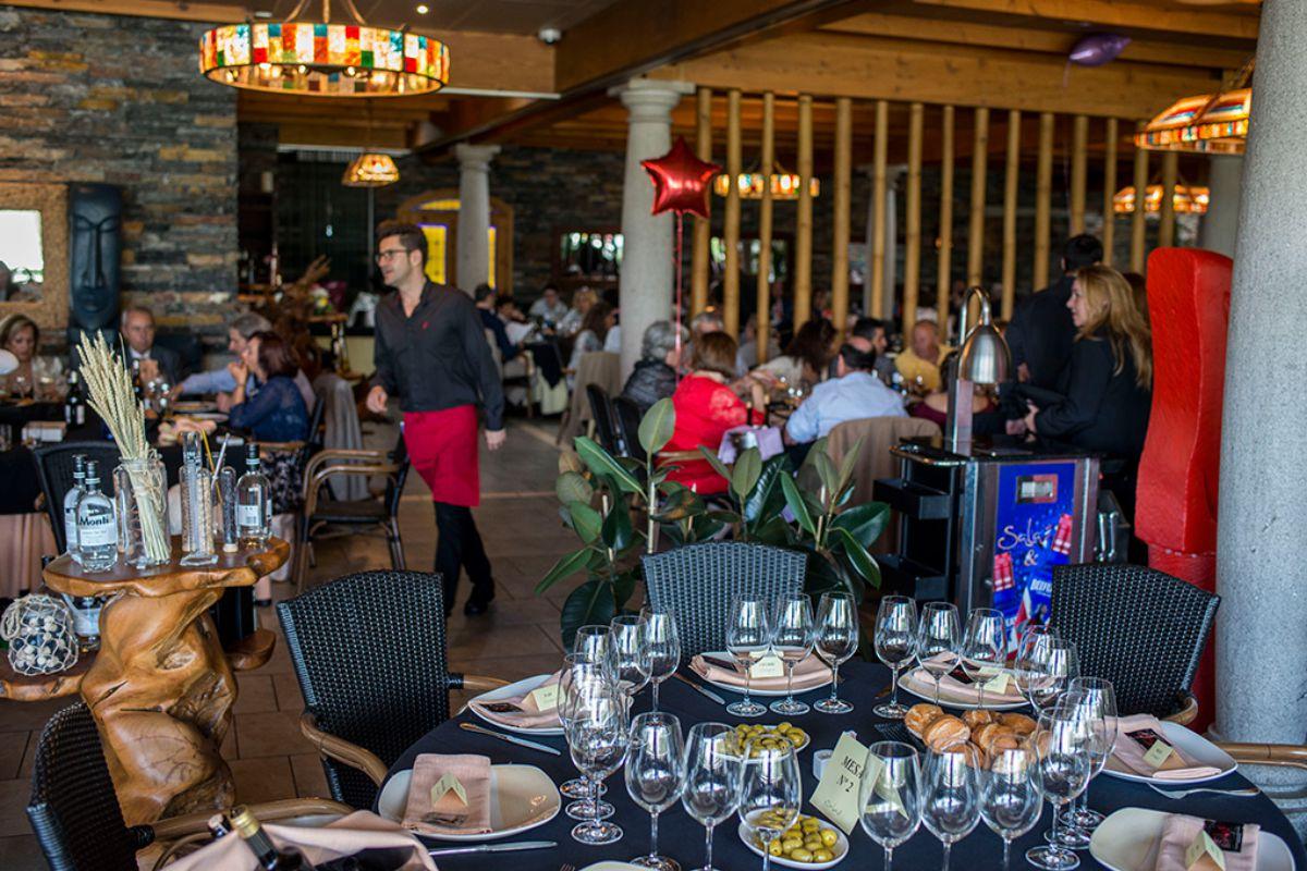 Sala de Guadarrama, Restaurante, Madrid. Foto: Alfredo Cáliz