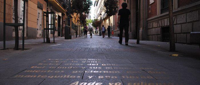 Calle Huertas, Madrid. / CC Flickr Omar Carbajal.