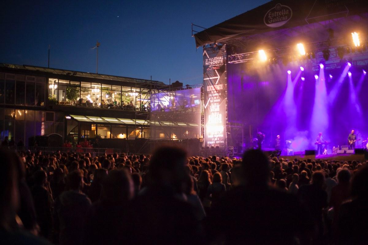 Desde las 19 h en adelante, hay entre uno y tres conciertos por día y escenario. Foto: Festival Noroeste.