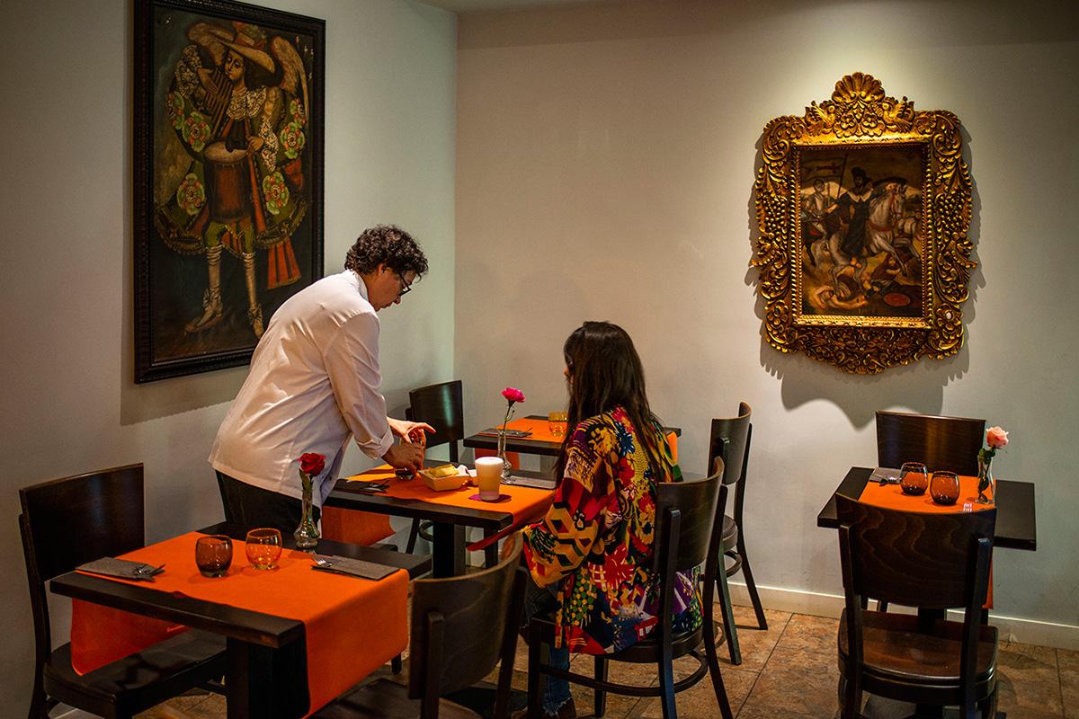 La visión tradicional de Perú se lleva a la decoración también.