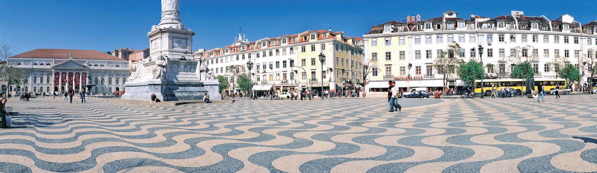 Plaza del Rossio. Foto: Turismo de Portugal.
