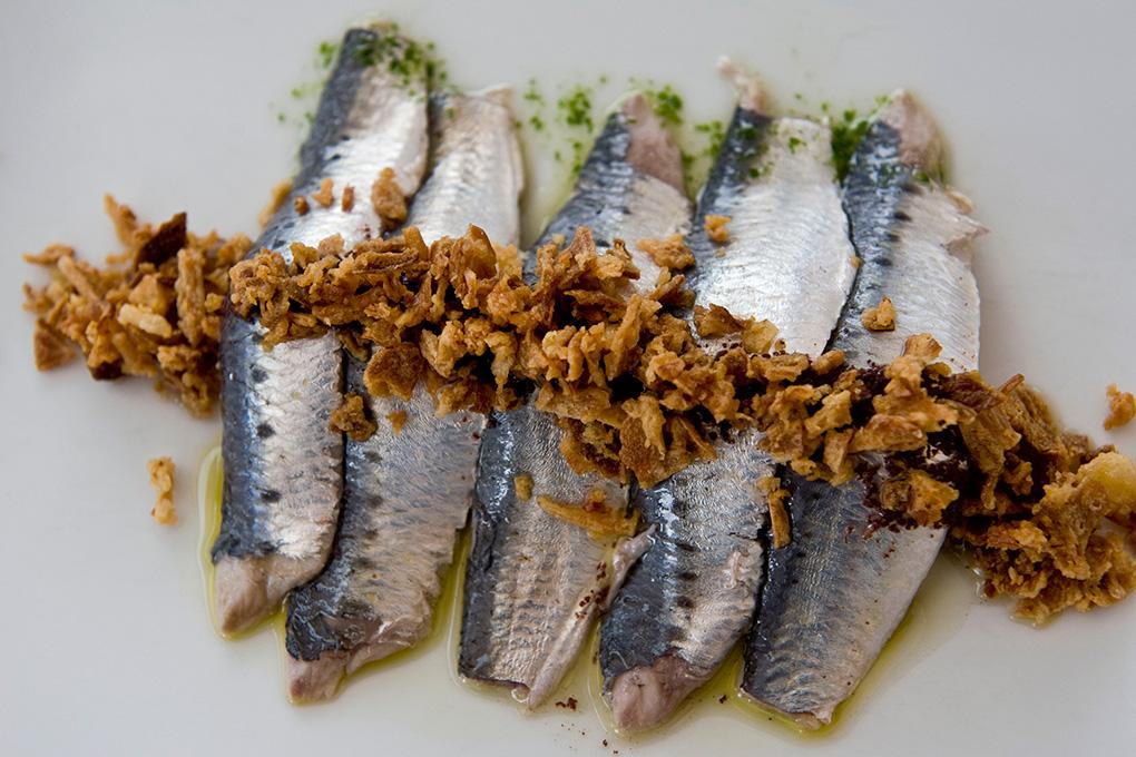 Una de las delicias del mar que prepara David en su restaurante.