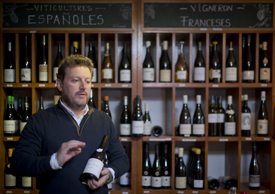 Xavier Saludes explica las características de estos vinos exclusivos y expresivos