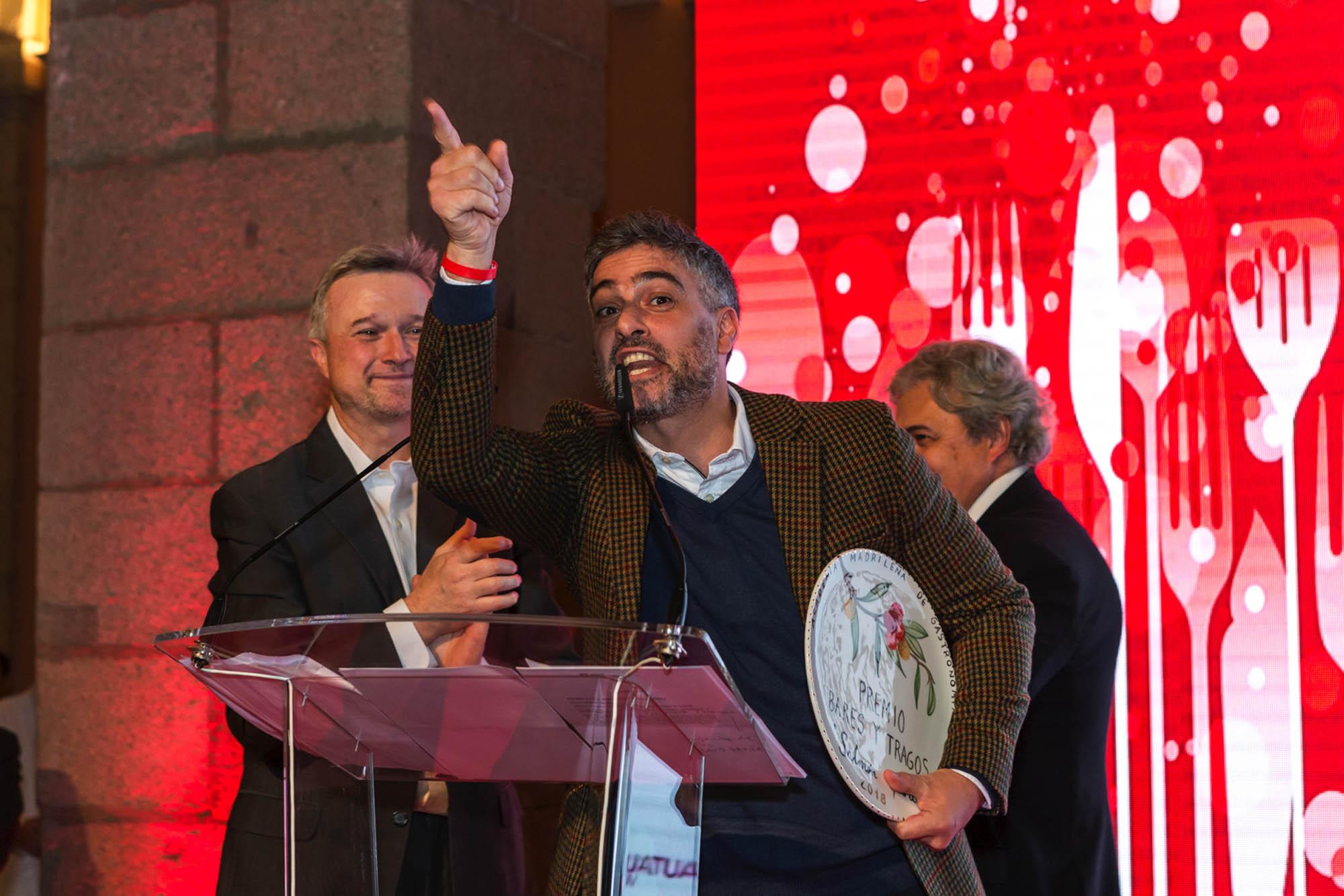 Diego Cabrera no pudo contenerse y lanzó un ¡Viva Madrid! a la ciudad que tan calurosamente le ha acogido.