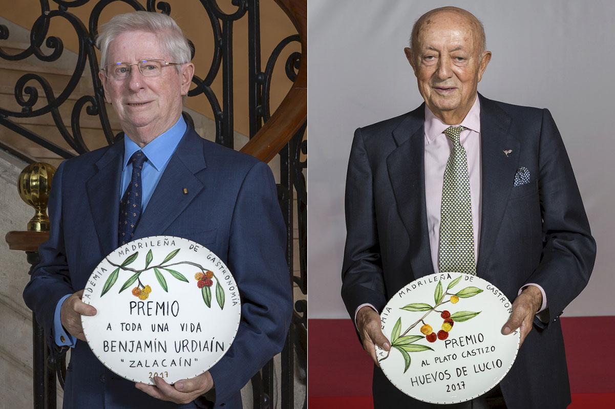Abraham García, Ricardo Sanz, Rodrigo de la Calle e Higinio Gómez.