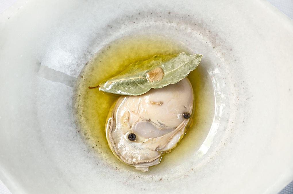 Las ostras de Sacha, irresistibles.