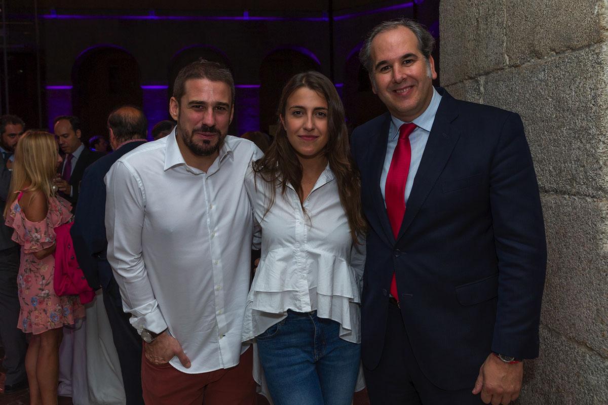 II Premios Gastronomía de Madrid. Javi Estévez, Sara Moreno y Luis Suárez de Lezo. Foto: David de Luis