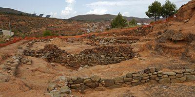 Poblado celtíbero en el cerro de San Miguel, Arnedo. Foto: Turismo de La Rioja.