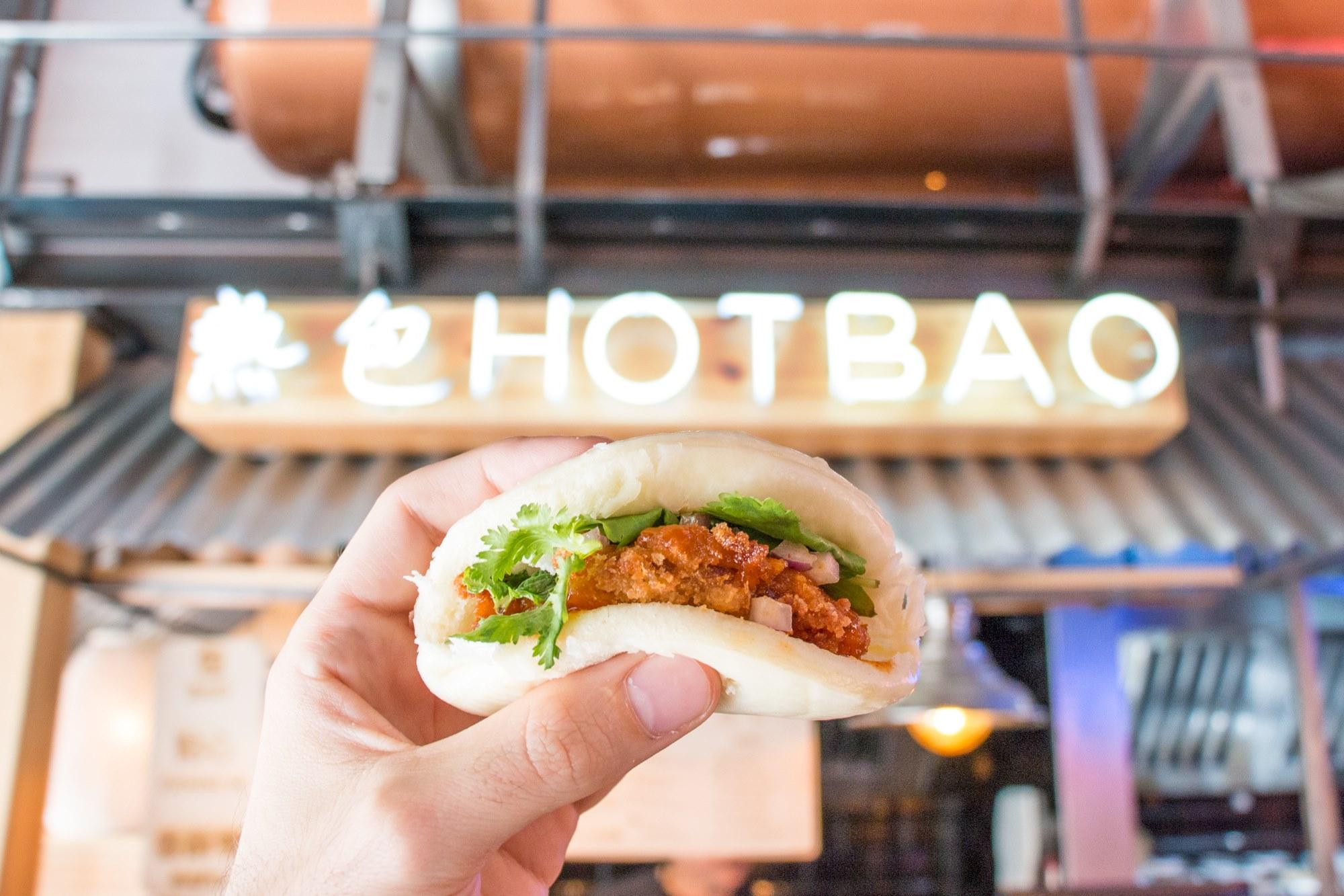 'Hotbao' se inspira en la comida callejera de los mercados de China, Tailandia o Singapur. Foto: 'Hotbao'.