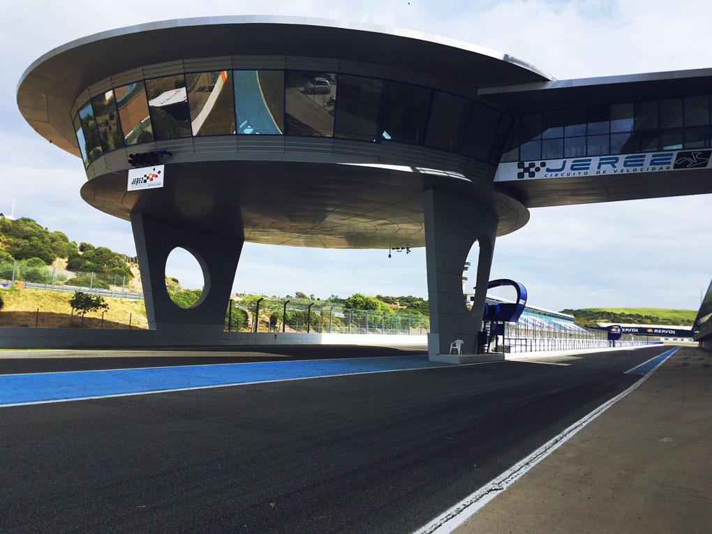 El circuito de Jerez, nuestro destino.