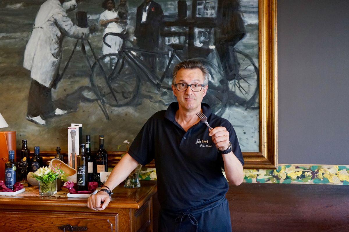 Juan Carlos Menéndez, del restaurante 'Sport'.