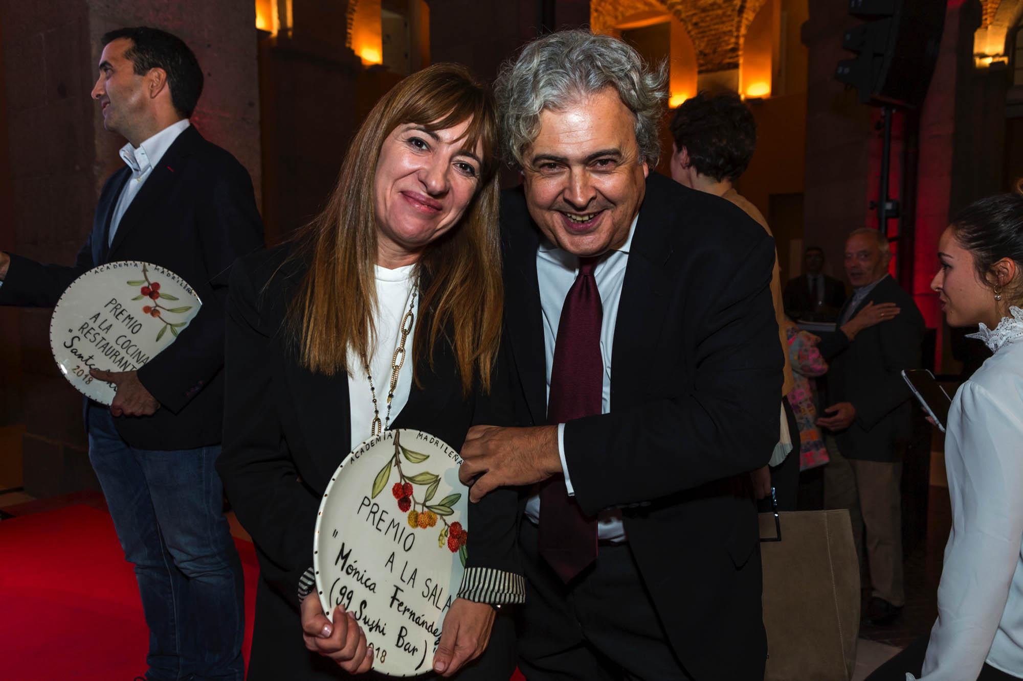 Mónica Fernández, sumiller de '99 Sushi Bar', acumula un premio más como una de las grandes en su categoría.