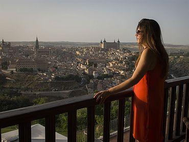 Tres hoteles con vistas a Toledo en los cigarrales