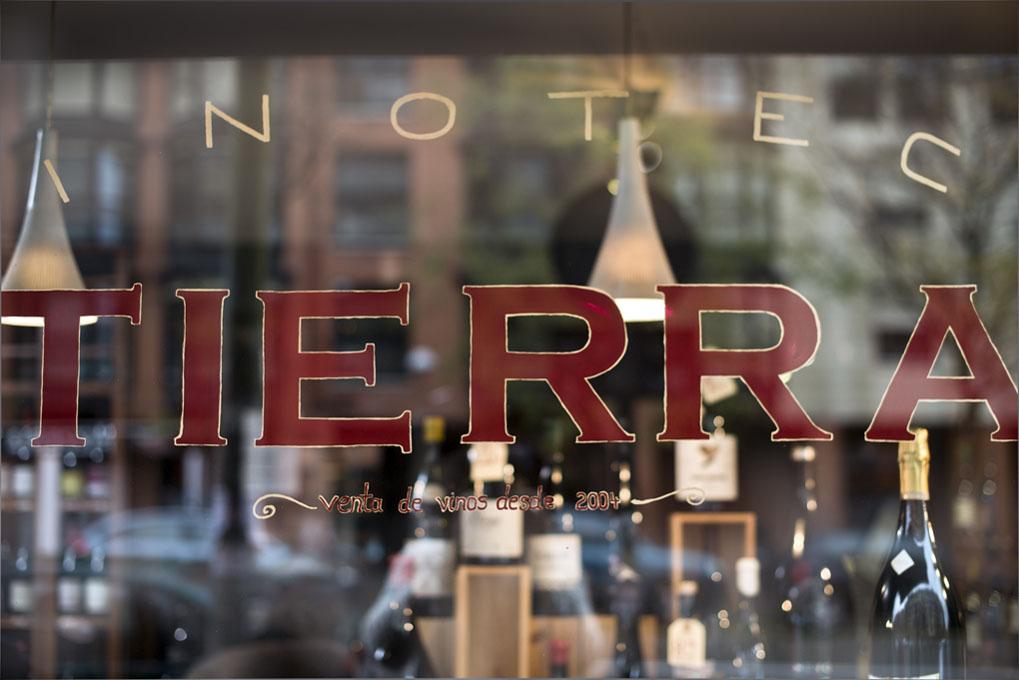 Tras el escaparate se encuentra el Eden de los vinos 'terroir'