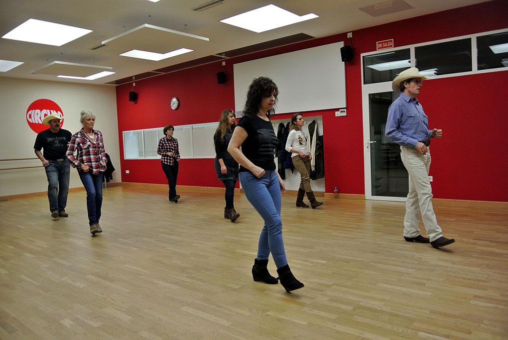Así bailan los vaqueros. Foto: Círculo de Baile.
