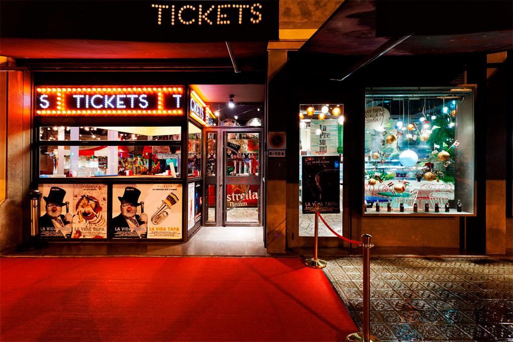 Así es la entrada del nuevo Tres Soles. Foto: Tickets