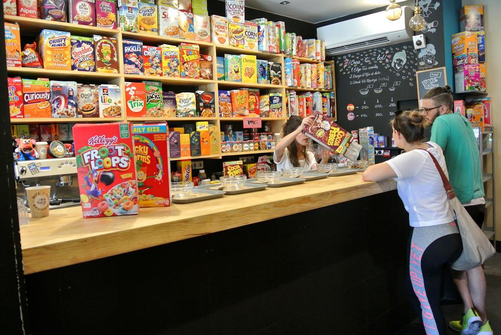 Adictos a los cereales: ÉSTE es el lugar. Foto: C.M.