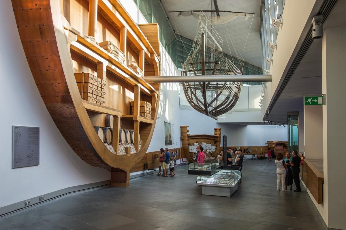 El Museo Nacional de Arqueología Subacuática. Foto: Ramón Peco y Manuel Martínez.